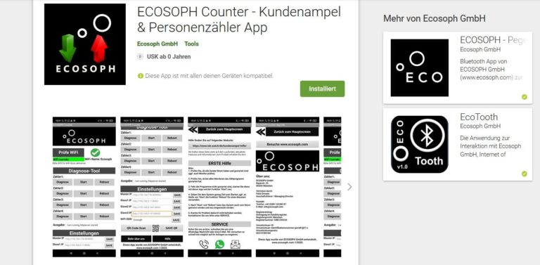 ecosoph people counter app store